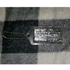 COPY - RARE coach keychain